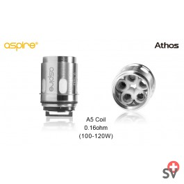 Aspire Speeder - Athos replacement Atomizer - A5 0.16 ohm (5 pcs) (Accessories)