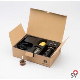VAPMAN Set Station de chauffe - Classic Noyer (Vaporizer) la boite HD