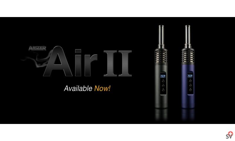 ARIZER Air 2 - Mystic Blue et carbon black