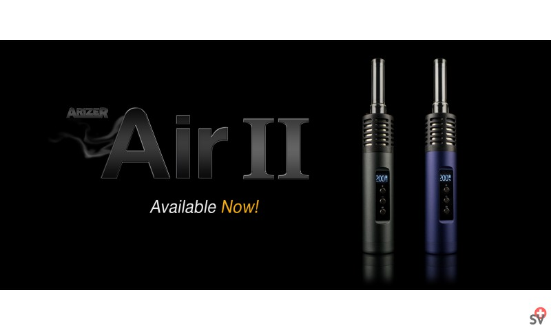 ARIZER Air 2 - Mystic Blue et carbon black