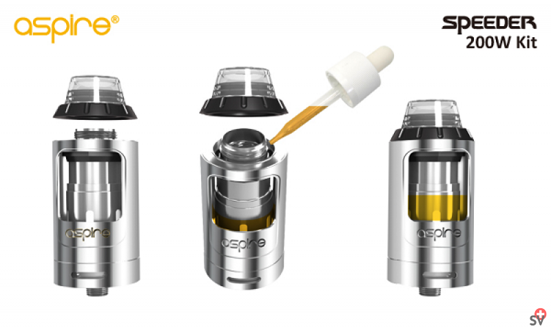 Aspire Speeder Kit 200W (Vaporizer) - Filling