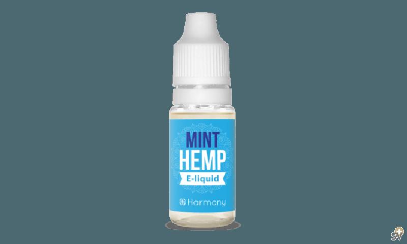 Harmony e-liquide 100mg de CBD - Menthe