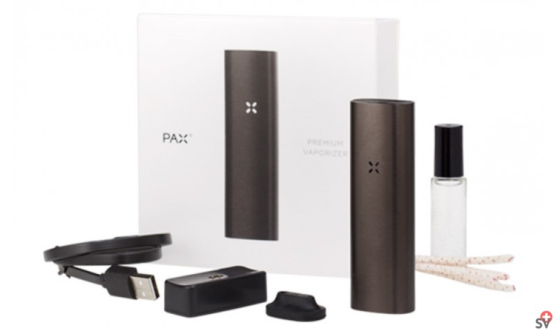 PAX 2 - Black Charcoal full pack