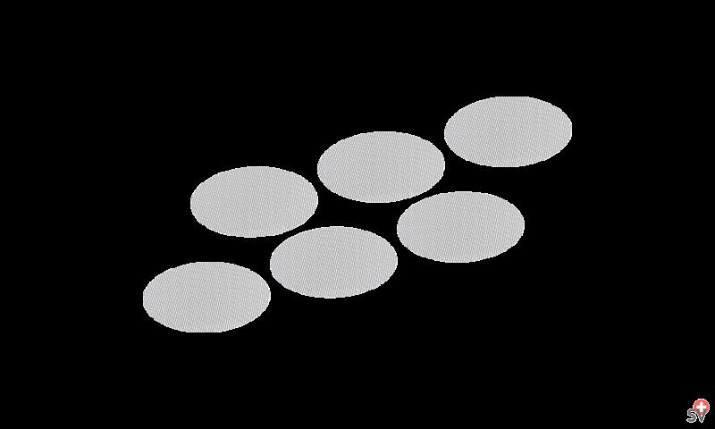 Volcano -Set de Tamis standards (Accessories) 1
