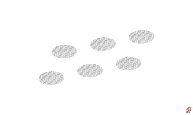 Volcano - Set de Tamis standards, petit (Accessories) 1